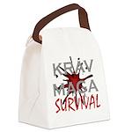 Krav Maga Canvas Lunch Bag
