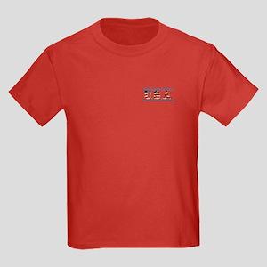 USA Stars/Strips Kids Dark T-Shirt