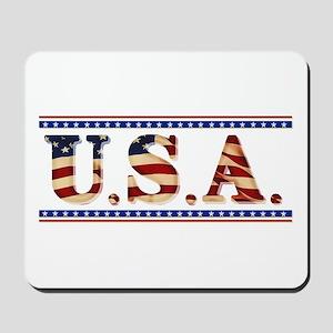 USA Stars/Strips Mousepad