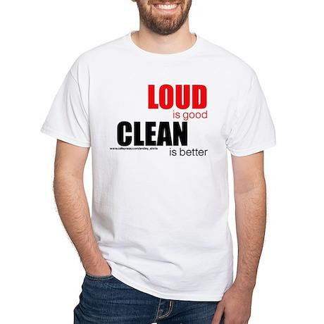 Loud is good...clean is better