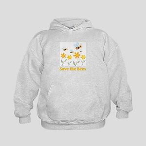 Save the Bees Kids Hoodie