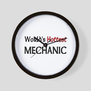 World's Hottest Mechanic Wall Clock
