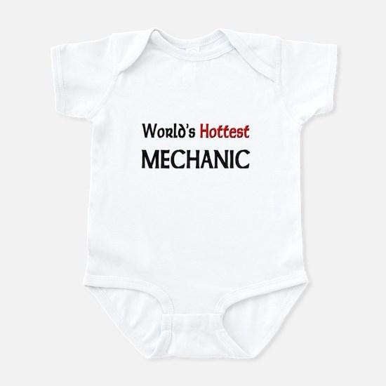 World's Hottest Mechanic Infant Bodysuit