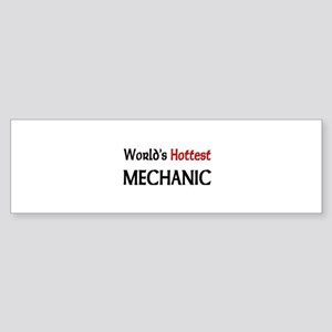 World's Hottest Mechanic Bumper Sticker