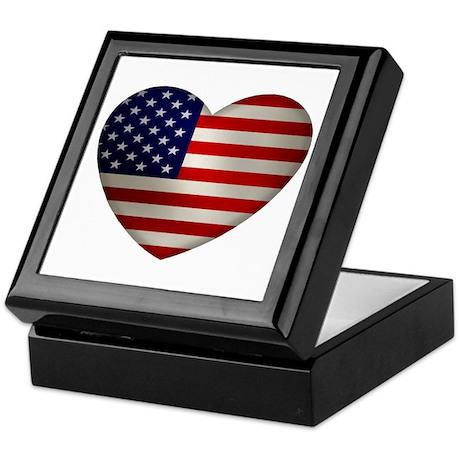 Heart America Keepsake Box
