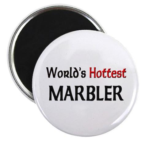 """World's Hottest Marbler 2.25"""" Magnet (10 pack)"""