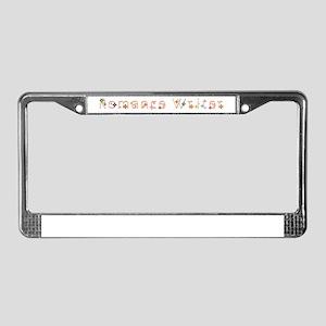 Romance Writer License Plate Frame