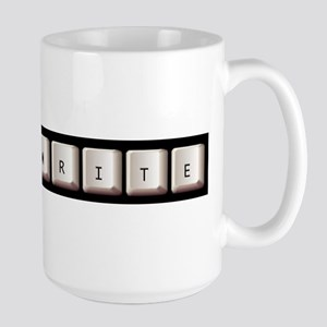 Just Write Large Mug