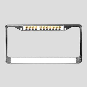 Just Journal License Plate Frame