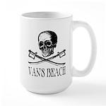 Vans Beach Pirate Large Mug