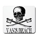 Vans Beach Pirate Mousepad