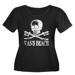 Vans Beach Pirate Women's Plus Size Scoop Neck Dar