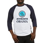 Atheists for OBAMA Baseball Jersey
