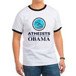 Atheists for OBAMA Ringer T