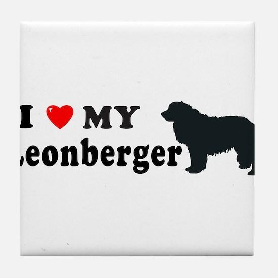 LEONBERGER Tile Coaster