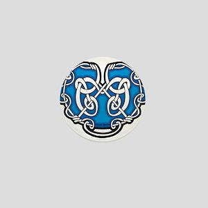 CELTIC50_BLUE Mini Button