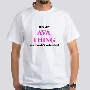 It's an Ava thing, you wouldn't un T-Shirt