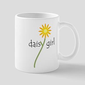 Yellow Daisy Girl Mug