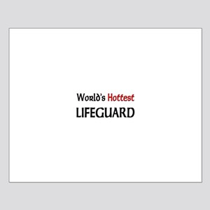 World's Hottest Lifeguard Small Poster