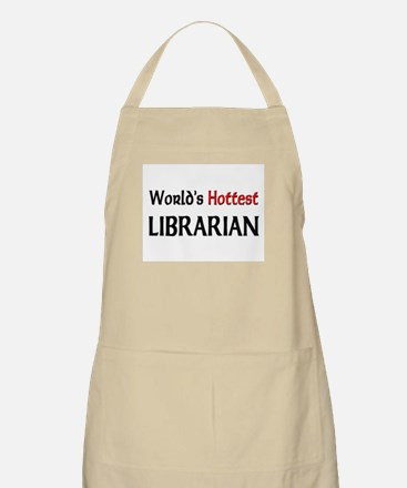 World's Hottest Librarian BBQ Apron