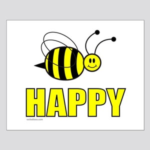 BEE HAPPY Small Poster
