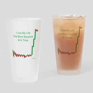 Live Life Short Squeeze Bar Drinking Glass