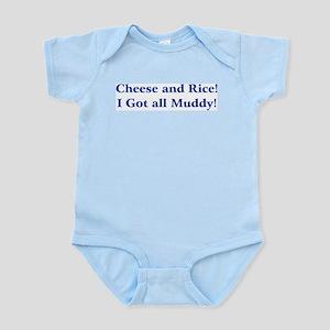 Cheese n Rice! Infant Bodysuit
