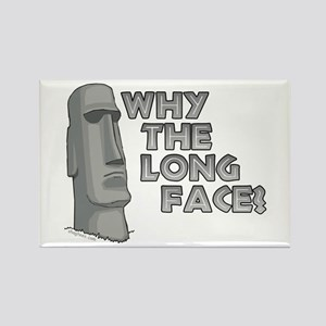 Why the Long Face? Rectangle Magnet