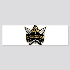 Columbus Crusaders Bumper Sticker