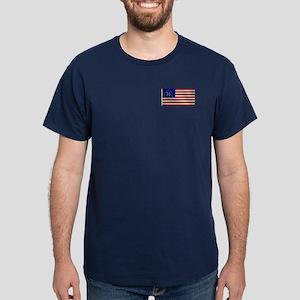 Bennington 1776 Flag Dark T-Shirt