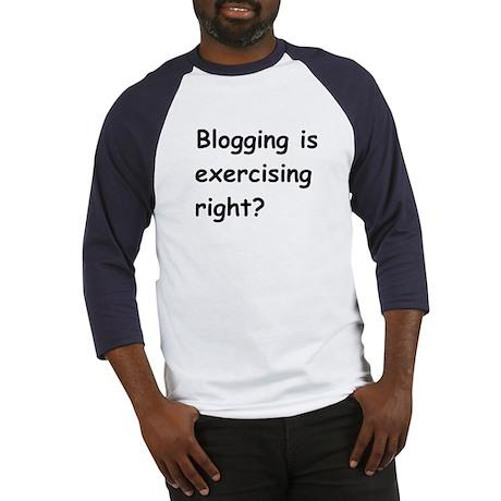 """Blogging"" Baseball Jersey"