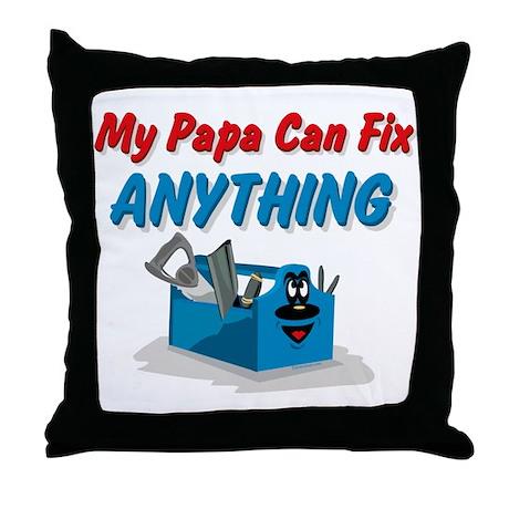 Fix Anything Papa Throw Pillow