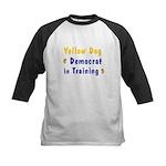 Yellow Dog Democrat in Training Kids Baseball Jers
