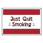 Just Quit Smoking Banner