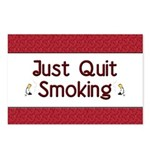 Just Quit Smoking Postcards (Package of 8)