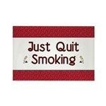 Just Quit Smoking Rectangle Magnet (10 pack)