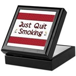 Just Quit Smoking Keepsake Box