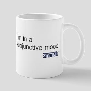 """Subjunctive"" Stainless Steel Travel Mug"