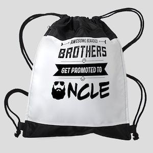 Awesome Bearded Uncle Drawstring Bag
