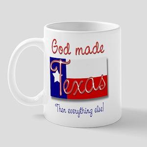 God made Texas Mug