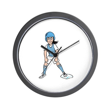 Base Runner Wall Clock