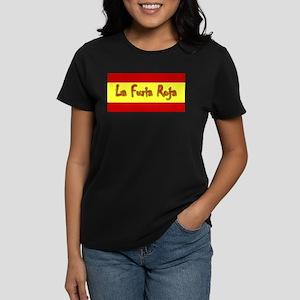 La Furia Roja Women's Dark T-Shirt