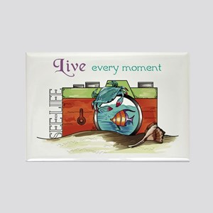 Live Every Moment Magnets