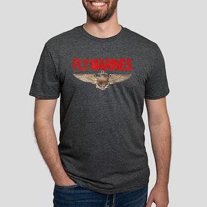 *NEW* Fly Marines Ash Grey T-Shirt