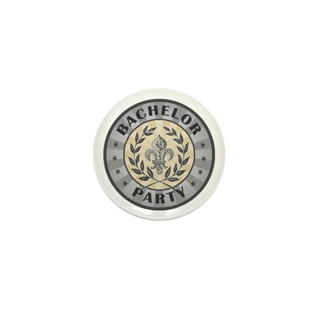 Bachelor Party Mini Button (100 pack)