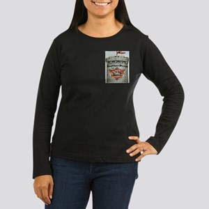 Siberian Huskie Women's Dark Long Sleeve T-Shi