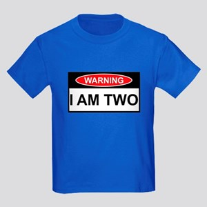 Birthday Warning Sign Kids Dark T-Shirt