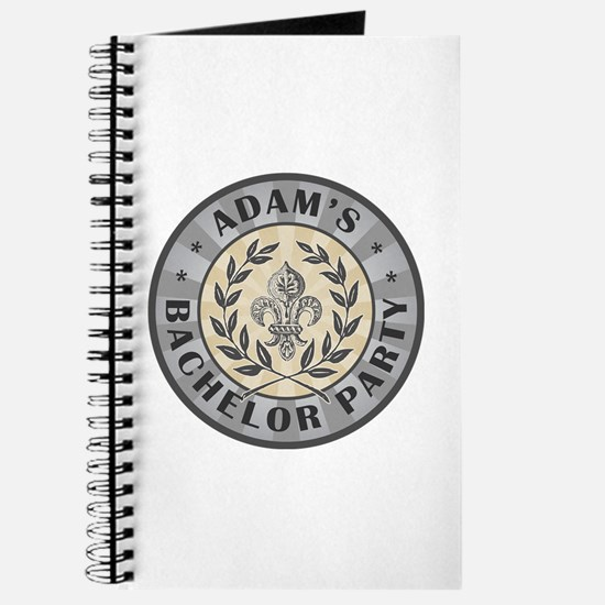 Adam's Personalized Bachelor Party Journal