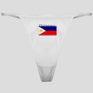 Philippines Filipino Flag Classic Thong
