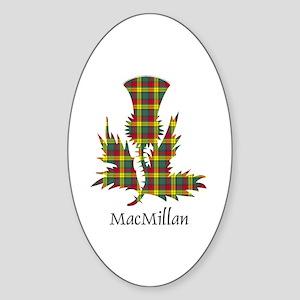 Thistle-MacMillan Sticker (Oval)